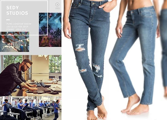 Why are denim pants called jeans?